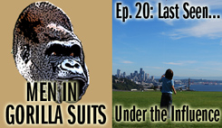 Child looking skyward - Men in Gorilla Suits Ep. 20: Last Seen...Under the Influence