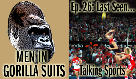 Rugby photo. Men in Gorilla Suits Ep. 26: Last Seen...Talking Sports