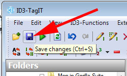 Saving changes in ID3-TagIT