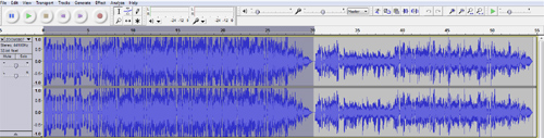 Copying intro sound file in Audacity