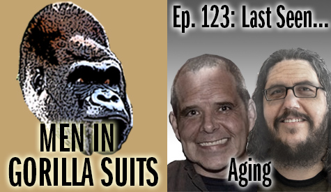 Shawn and Christopher as old men - Men in Gorilla Suits Ep. 123: Last Seen…Aging