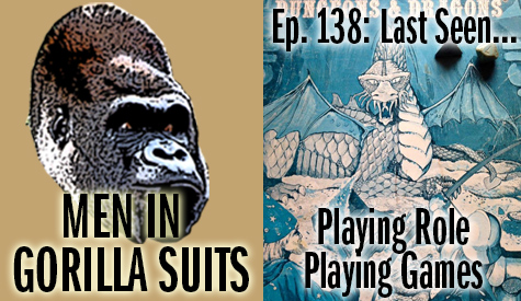 70s era Dungeons and Dragons rulebook - Men in Gorilla Suits Ep. 138: Last Seen…Playing Role Playing Games