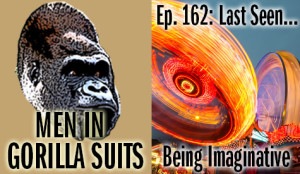 Blurred carnival rides at night - Men in Gorilla Suits Ep. 162: Last Seen…Being Imaginative