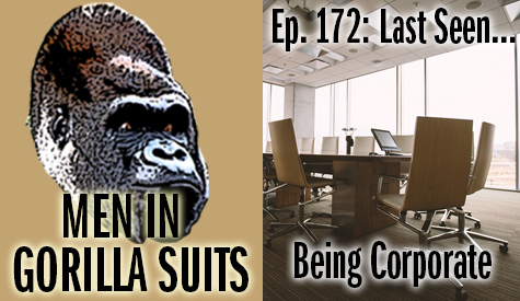 An empty conference room - Men in Gorilla Suits Ep. 172: Last Seen…Being Corporate