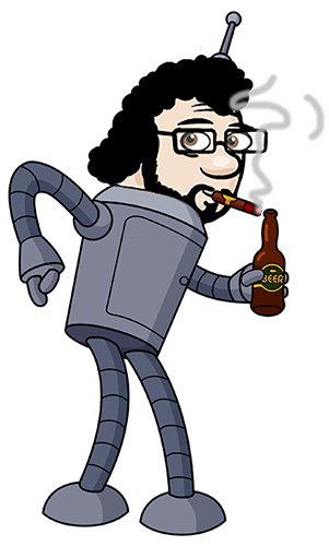 Robot Chris in 200 years...