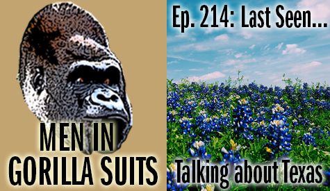 A field of Bluebonnets - Men in Gorilla Suits Ep. 214: Last Seen…Talking about Texas