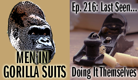 Hand plane and curled wood - Men in Gorilla Suits Ep. 216: Last Seen…Doing It Themselves